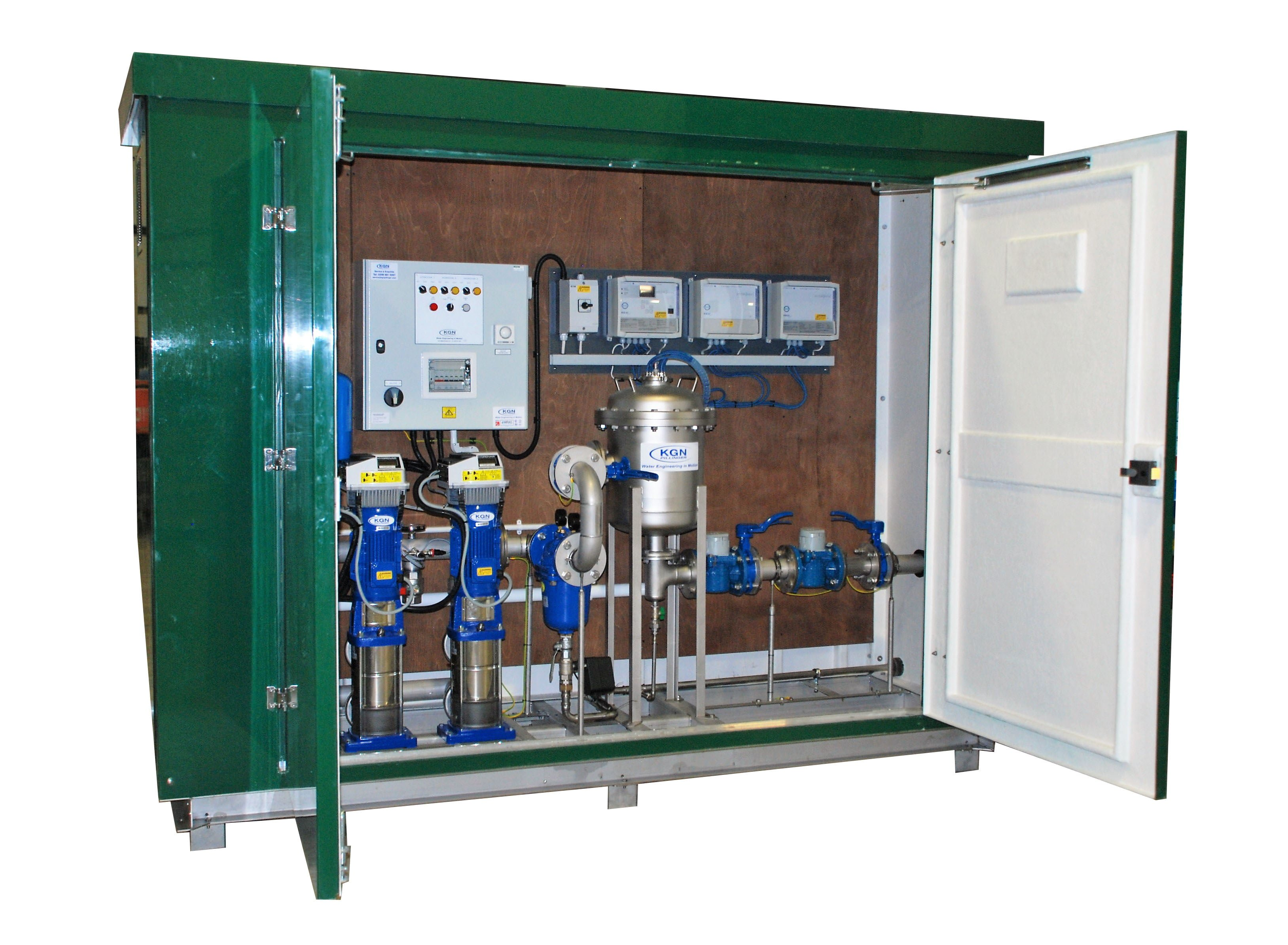 Above Ground Packaged Plant room