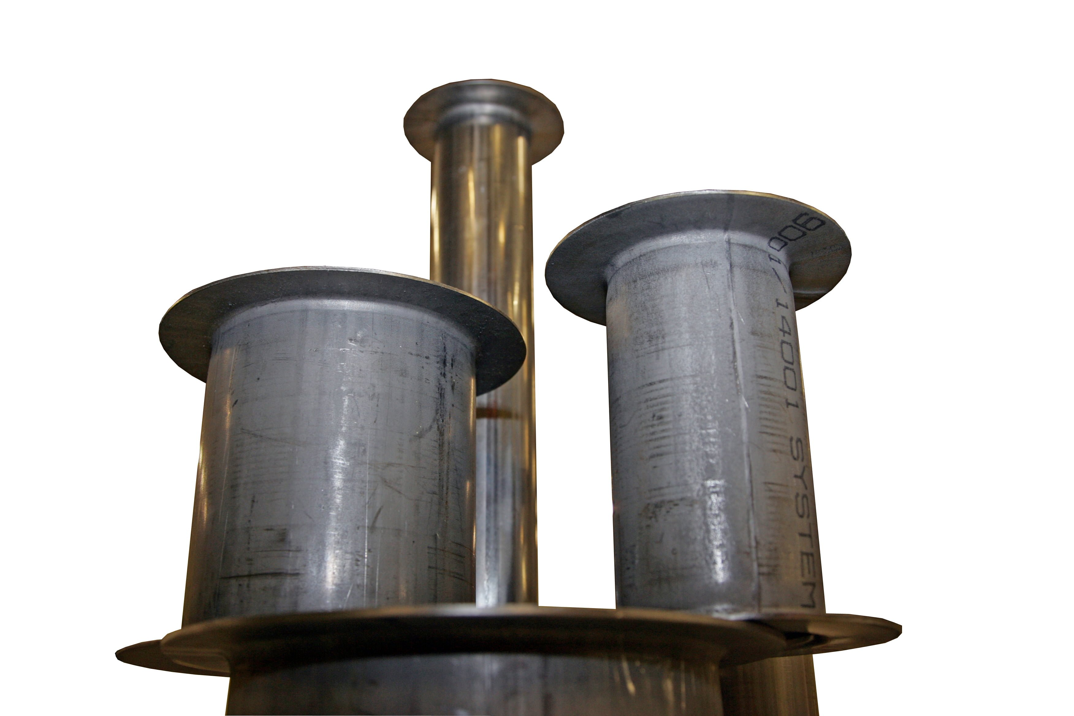 Flanged pipework